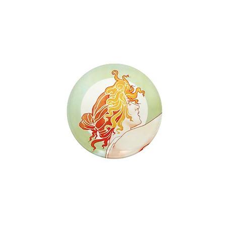 Robette Absinthe Woman Mini Button (10 pack)