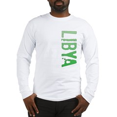 Libya Long Sleeve T-Shirt