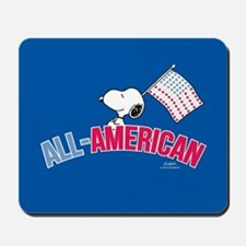 Snoopy - All American Full Bleed Mousepad