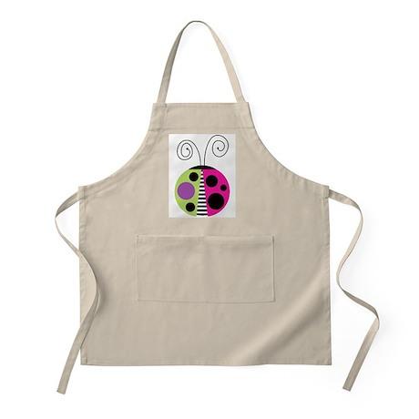Funky Ladybug BBQ Apron