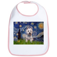 Starry - Westie (P) Bib
