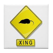 Mole XING Tile Coaster