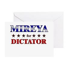 MIREYA for dictator Greeting Card
