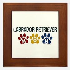 Labrador Retriever Mom 1 Framed Tile