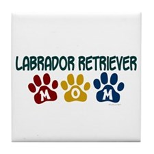Labrador Retriever Mom 1 Tile Coaster