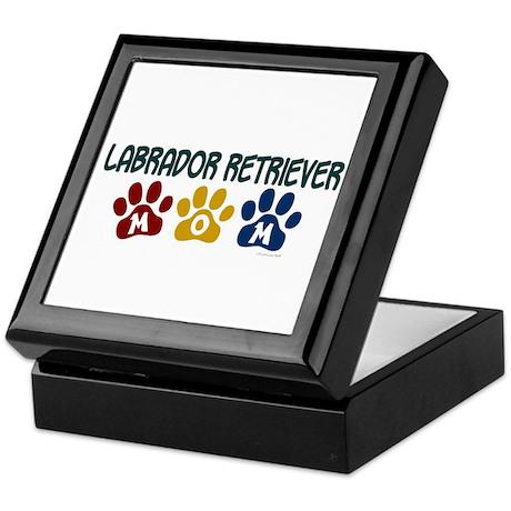 Labrador Retriever Mom 1 Keepsake Box
