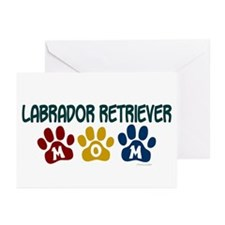 Labrador Retriever Mom 1 Greeting Cards (Pk of 10)