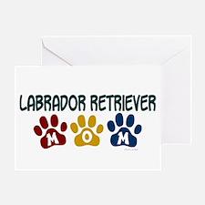 Labrador Retriever Mom 1 Greeting Card
