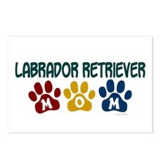 Labrador Retriever Mom 1 Postcards (Package of 8)