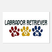 Labrador Retriever Mom 1 Postcards (Package of 8)