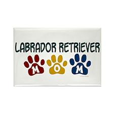Labrador Retriever Mom 1 Rectangle Magnet