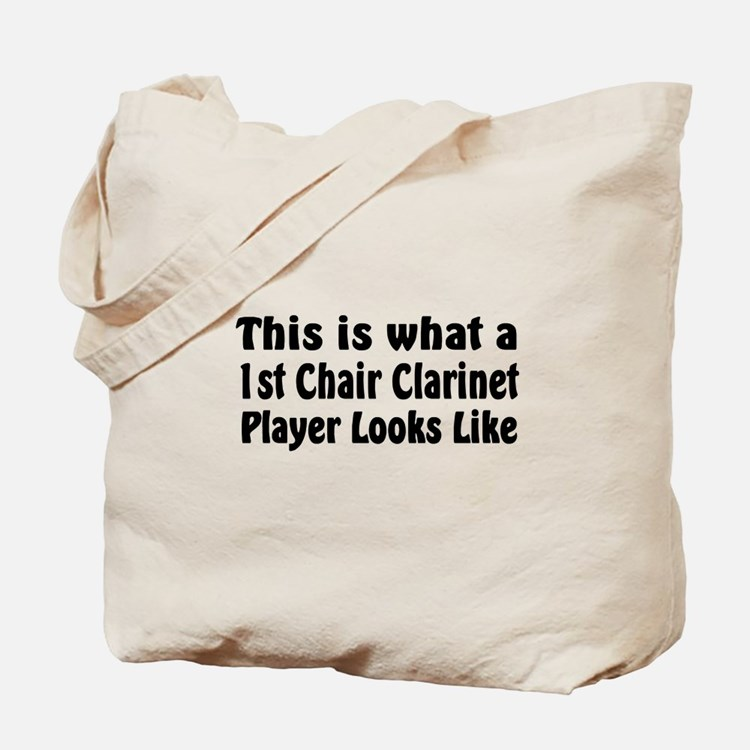 1st Chair Clarinet Tote Bag