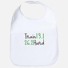 Train Hard 13.1 26.2 Bib