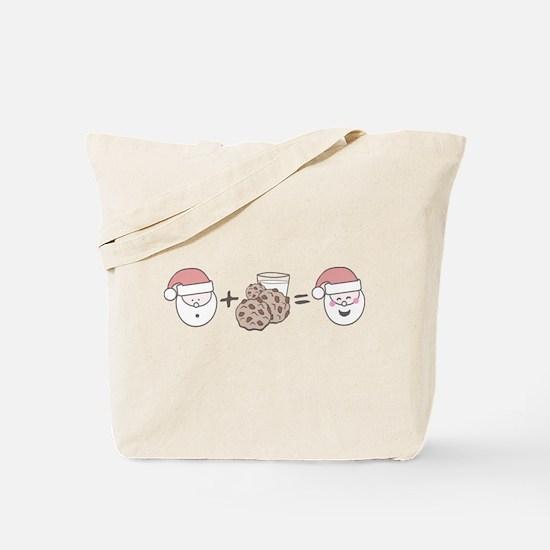 Santa Cookie Math Tote Bag