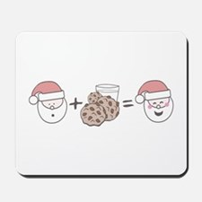 Santa Cookie Math Mousepad