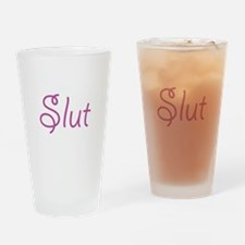 Slut Drinking Glass