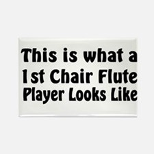 1st Chair Flute Rectangle Magnet (10 pack)
