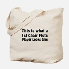1st Chair Flute Tote Bag