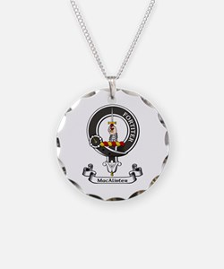 Badge - MacAlister Necklace Circle Charm