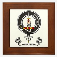 Badge - MacAlister Framed Tile