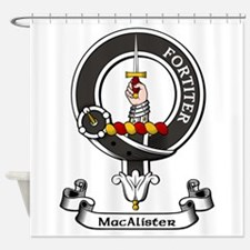Badge - MacAlister Shower Curtain