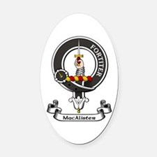 Badge - MacAlister Oval Car Magnet