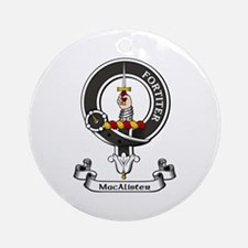 Badge - MacAlister Ornament (Round)