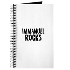 Immanuel Rocks Journal