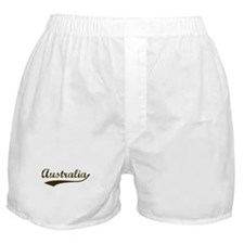 Vintage Australia Boxer Shorts