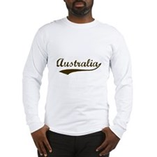 Vintage Australia Long Sleeve T-Shirt