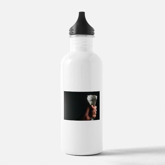 money Water Bottle