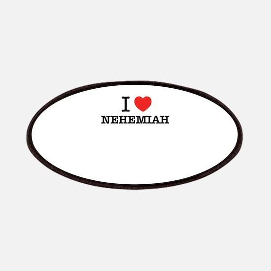 I Love NEHEMIAH Patch