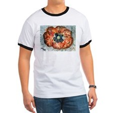 Poppy Flower flower art paint T