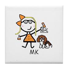 Microscope - MK Tile Coaster