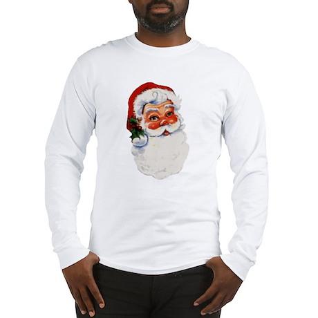 Paper Santa Long Sleeve T-Shirt
