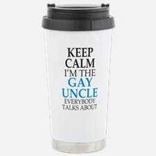 Uncle to be Travel Mug