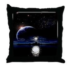 Moon's Midnight Throw Pillow