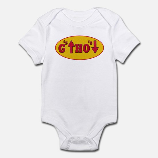 Snoop Dogg - G's Up Ho's Down Infant Bodysuit