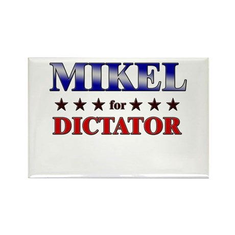 MIKEL for dictator Rectangle Magnet (10 pack)