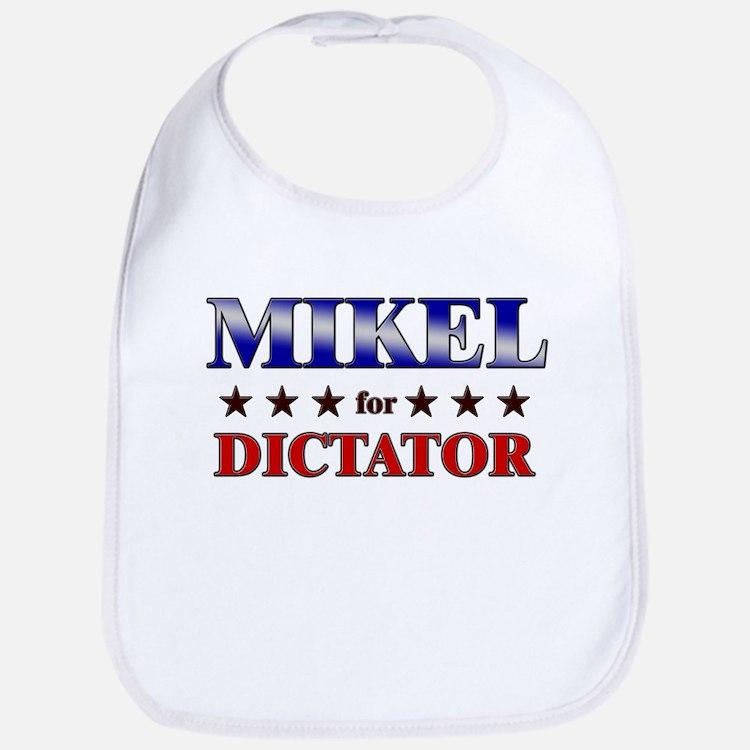 MIKEL for dictator Bib