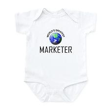 World's Greatest MARKETER Infant Bodysuit