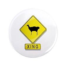 "Llama XING 3.5"" Button (100 pack)"