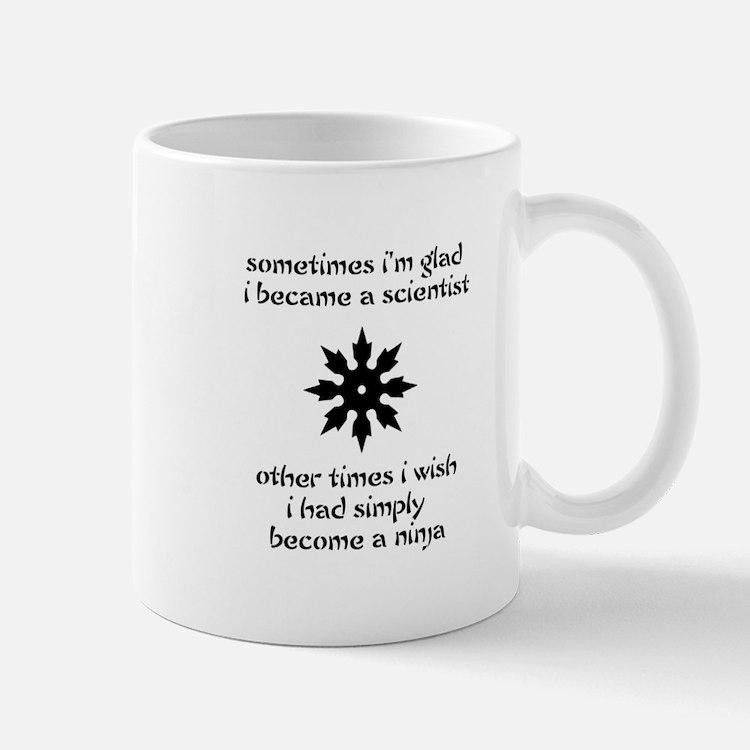 Ninja Scientist Mug