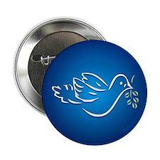 """Peace Dove 2.25"""" Button"""