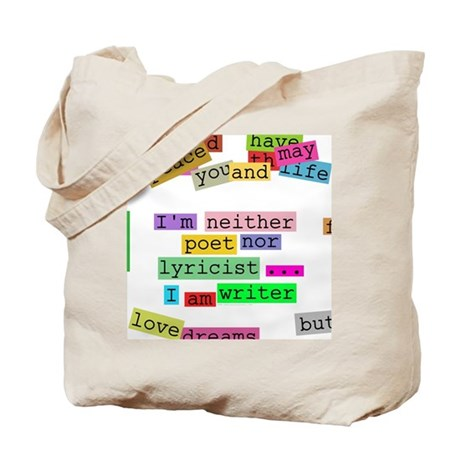 I am writer Tote Bag