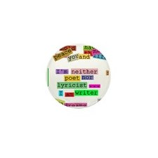 I am writer Mini Button