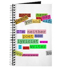I am writer Journal