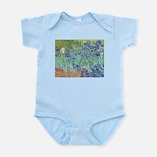 Irises by Vincent Van Gogh Infant Bodysuit