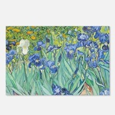Irises by Vincent Van Gog Postcards (Package of 8)