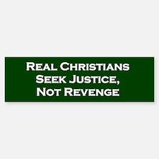 Real Christians Bumper Bumper Bumper Sticker